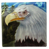 "Capiz Shell Trinket Box, 3"", Eagle"