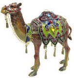 Camel Jeweled Trinket Box with SWAROVSKI Crystals
