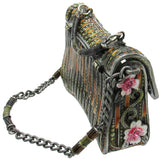 Handbag Jeweled Trinket Box with SWAROVSKI Crystals