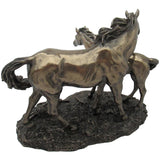 Bronze Sculpture, Mare & Foal