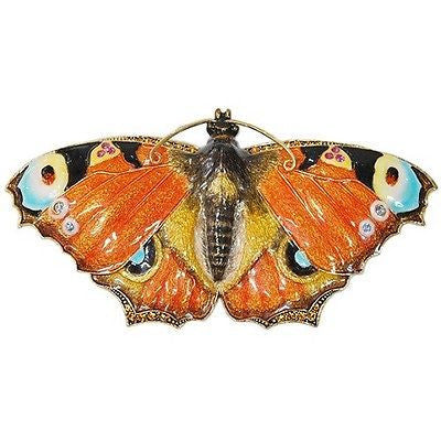 Butterfly Jeweled Trinket Box with SWAROVSKI Crystals, by RUCINNI