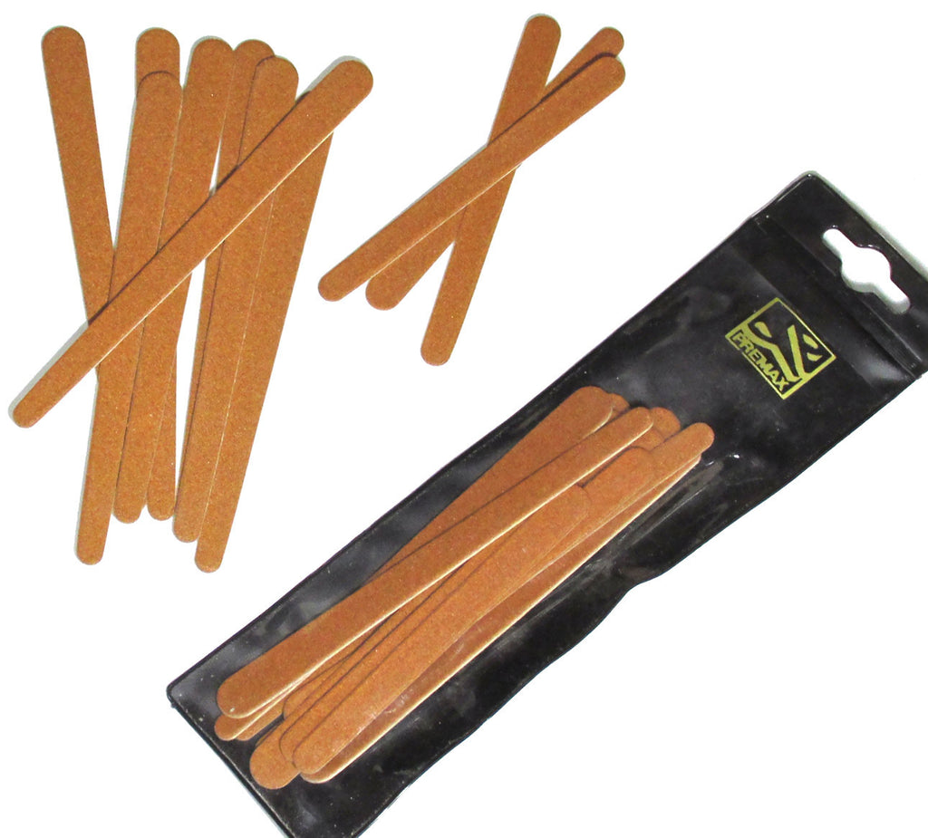 Premax Italy 11pc Set Emery Board Nail Files