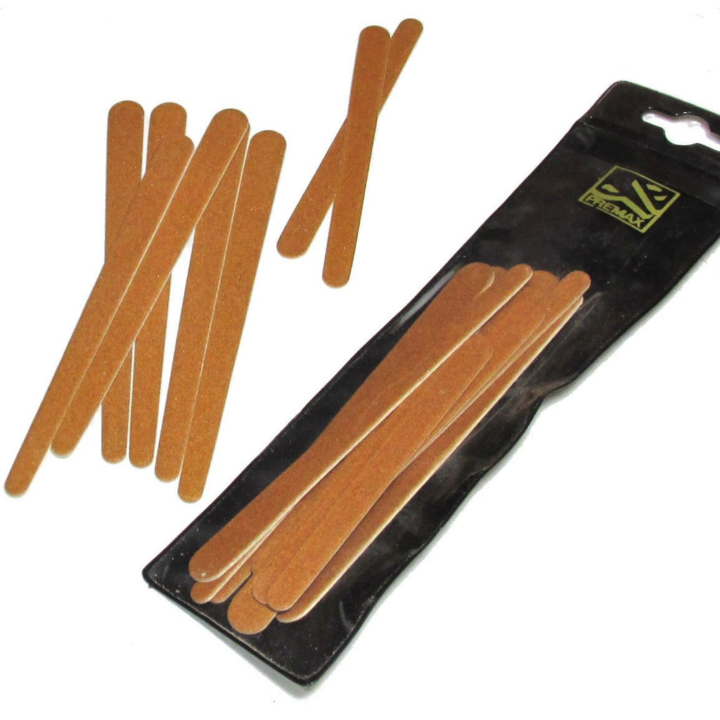 Premax Italy 8pc Set Emery Board Nail Files