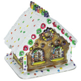 Gingerbread House Jeweled Trinket Box with SWAROVSKI Crystals