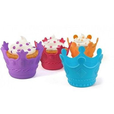 Aristocakes Royal Crown Novelty Cupkake Bakers Set Of of 4 - Fred & Friends