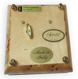 "Sorrento Music Box, 5"", Musical Inlay"