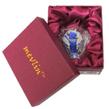 Blue Jay Baby Jeweled Trinket Box with SWAROVSKI Crystals
