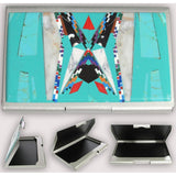 Native American Navajo Multi Stone Inlay Card Holder, #03