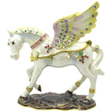 Pegasus Jeweled Trinket Box with SWAROVSKI Crystals, by RUCINNI