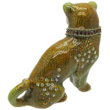 Pug Jeweled Trinket Box with SWAROVSKI Crystals, by RUCINNI