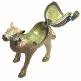 Baby Camel Jeweled Trinket Box with SWAROVSKI Crystals, by RUCINNI