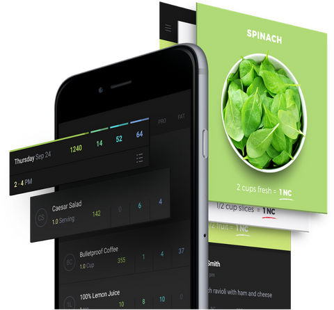 Senza App Journal and Feed