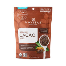 Load image into Gallery viewer, Organic Cacao Nibs by Navitas Organics