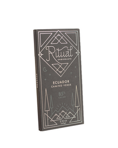 Ecuador Camino Verde 85% Cacao by Ritual Chocolate, 60g bar