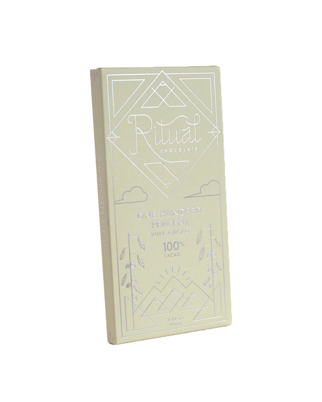 One Hundred Percent Cacao by Ritual Chocolate, 60g bar