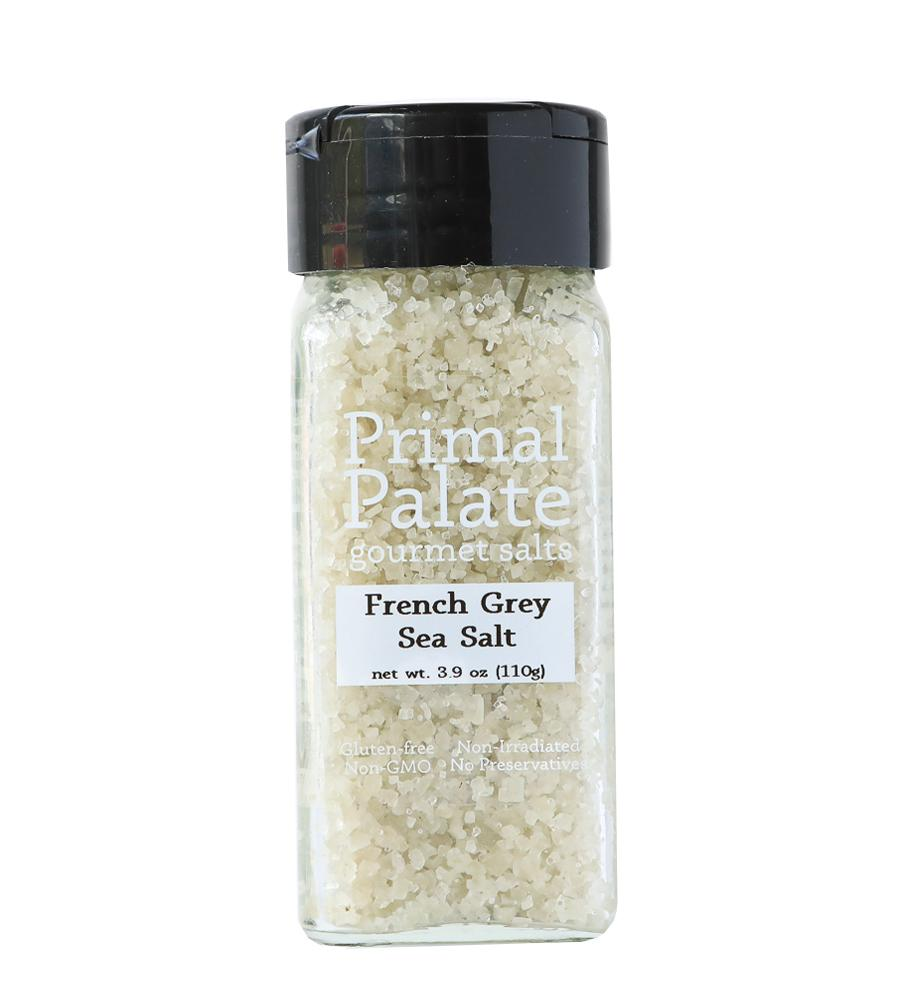 French Grey Sea Salt by Primal Palate Organic Spices, 3.9 oz jar