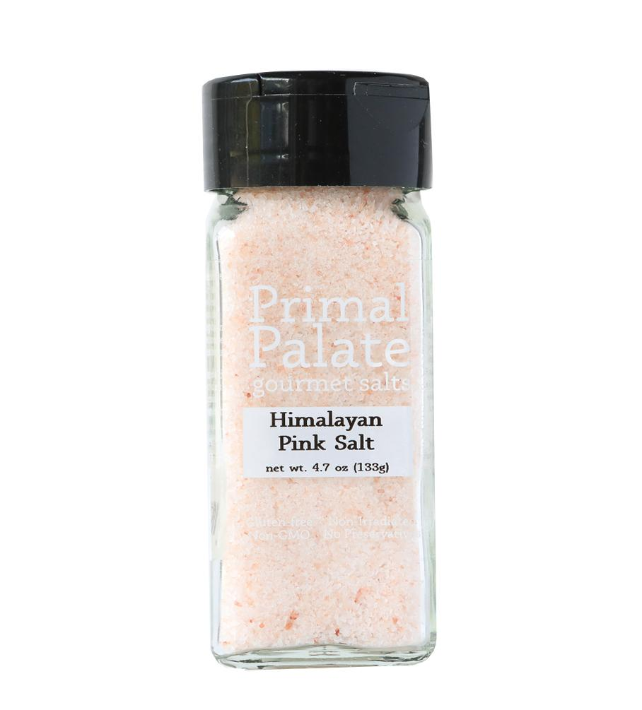 Himalayan Pink Salt by Primal Palate Organic Spices, 4.7 oz jar