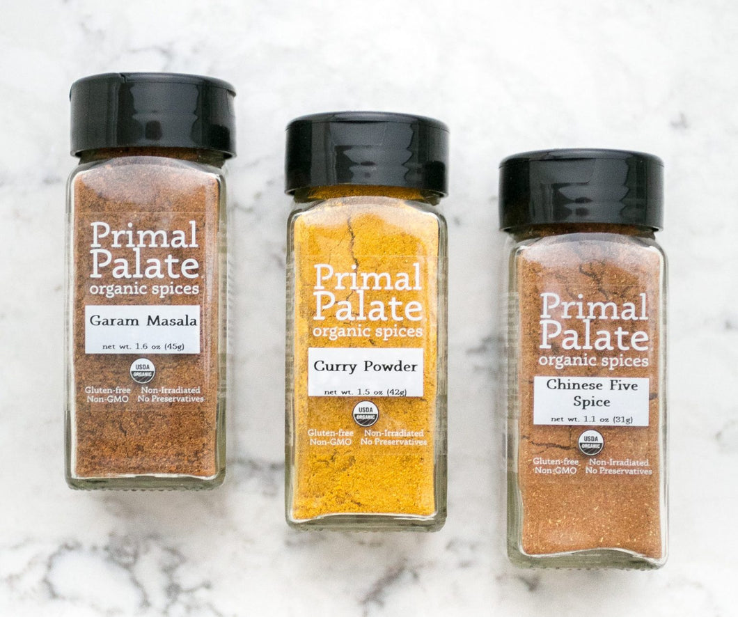 Spice It Up Bundle by Primal Palate Organic Spices