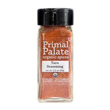Load image into Gallery viewer, Taco & Fajita Seasoning Mix by Primal Palate Organic Spices