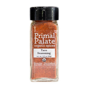 Taco & Fajita Seasoning Mix by Primal Palate Organic Spices