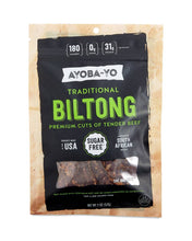 Load image into Gallery viewer, Traditional Beef Biltong by Ayoba-Yo, 2 oz