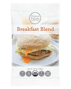 Breakfast Blend Seasoning Mix by Primal Palate Organic Spices