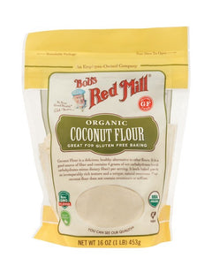 Organic Coconut Flour by Bob's Red Mill, 16 oz