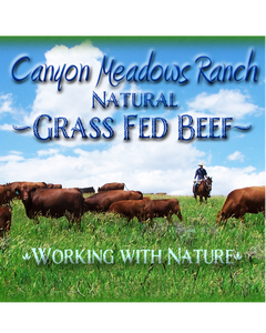 CMR 100% Grass Fed Ground Beef