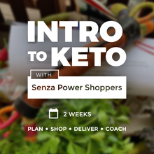 Load image into Gallery viewer, Intro to Keto with Senza Power Shoppers