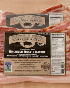 Rustic Uncured Bacon Box by Keller Crafted Meats, 8 lbs