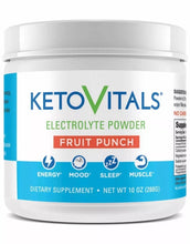 Load image into Gallery viewer, All-in One Electrolyte Powder by Keto Vitals, 10 oz container