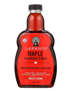 Maple Flavored Sugar Free Syrup by Lakanto, 13 fl oz