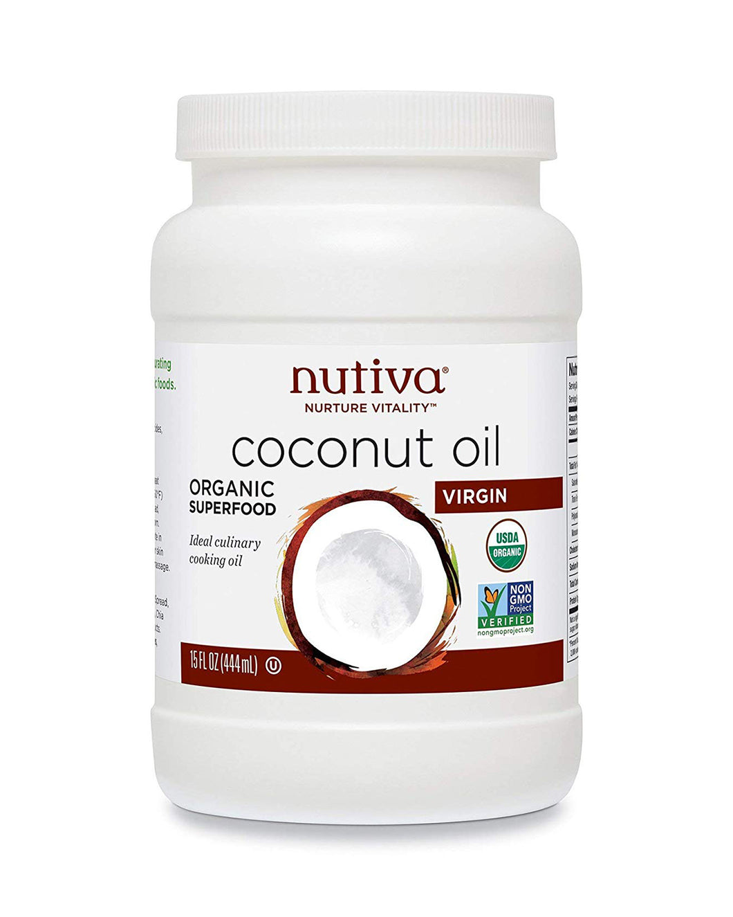 Organic Virgin Coconut Oil by Nutiva