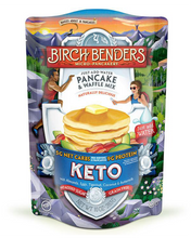Load image into Gallery viewer, Keto Pancake & Waffle Mix by Birch Benders, 10 oz bag