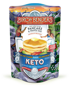 Keto Pancake & Waffle Mix by Birch Benders, 10 oz bag