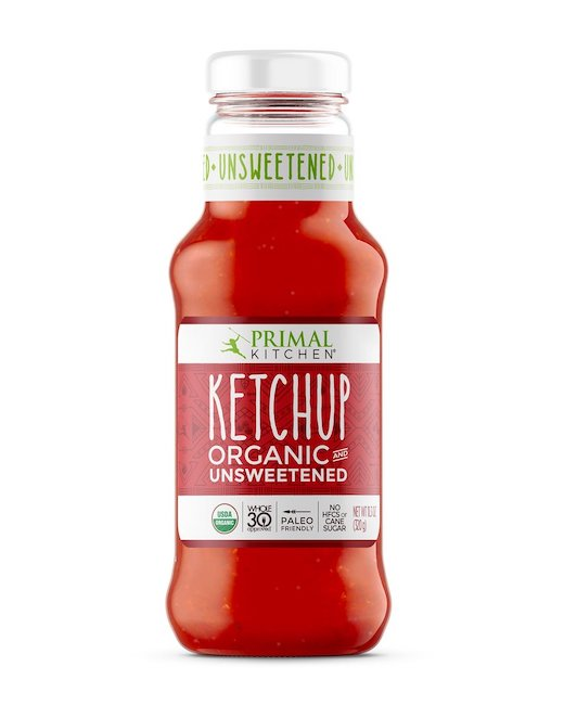 Organic Unsweetened Ketchup by Primal Kitchen, 11.3 oz