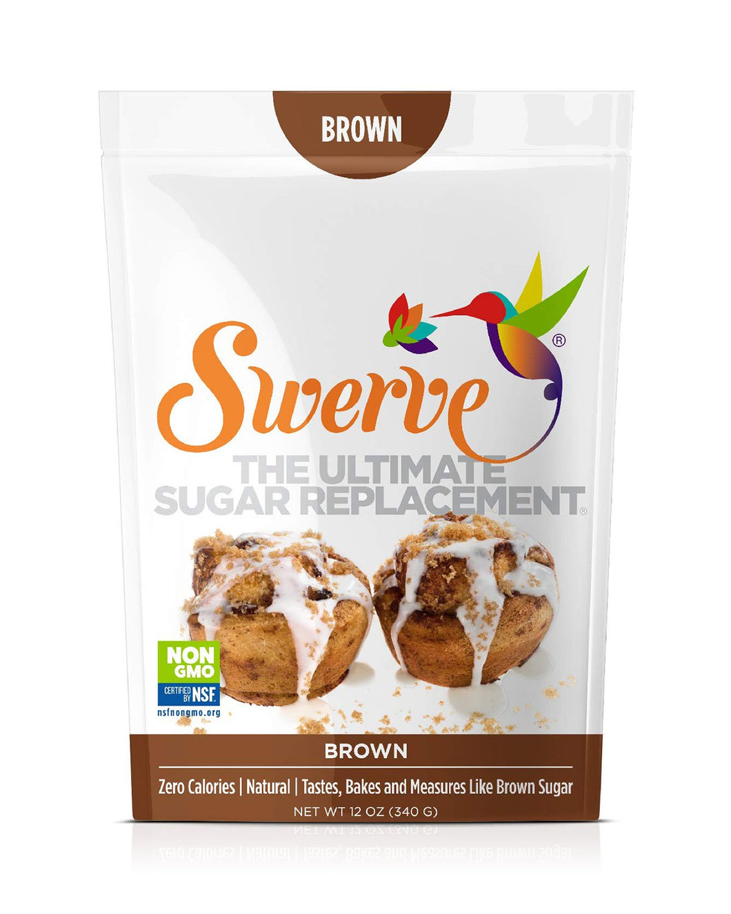 Brown Sugar Replacement by Swerve, 12 oz