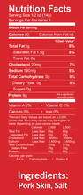 Load image into Gallery viewer, Nutrition Facts for Pork Panko by Bacon's Heir