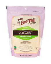 Load image into Gallery viewer, Shredded Coconut Unsweetened by Bob's Red Mill, 12 oz
