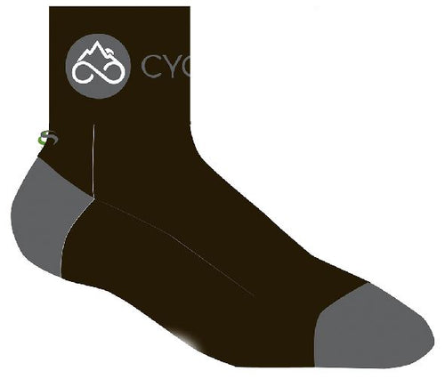 CYCLEADK/SAVE OUR SOLES SOCKS, MID-LENGTH CUFF