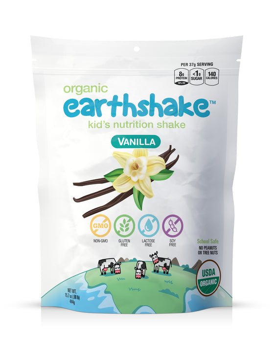 Earthshake Vanilla - Subscribe & Save 15%