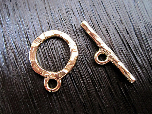 Designed and made by Anna Bronze Nautical rope toggle clasp antique bronze jewelry findings sea ocean bronze toggle clasp 3830\\1