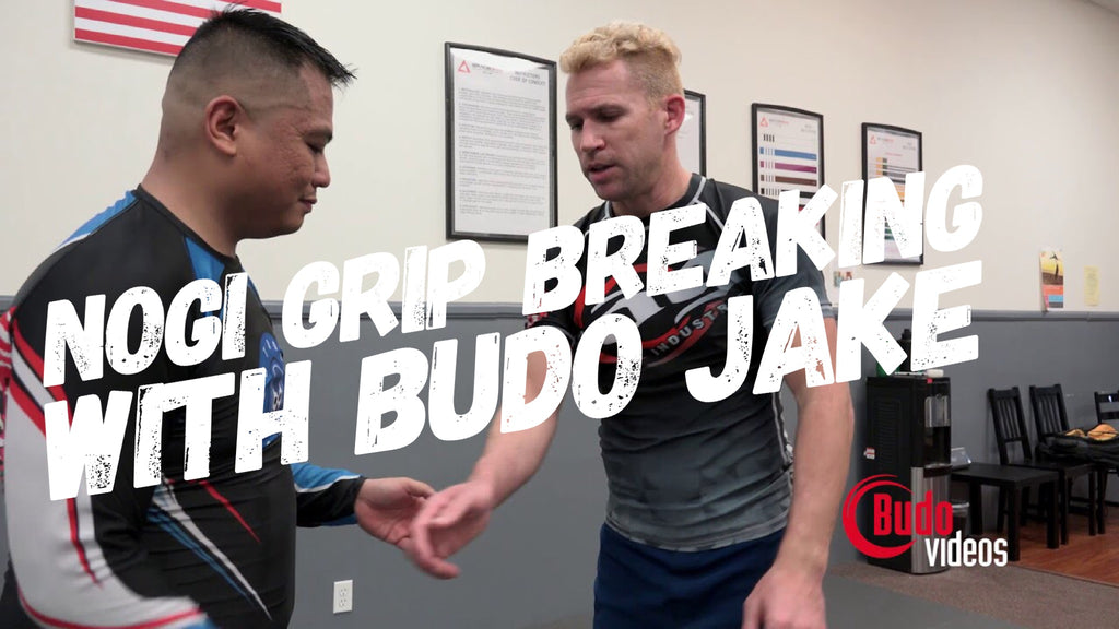 Fundamental Nogi Grip Breaking with Budo Jake