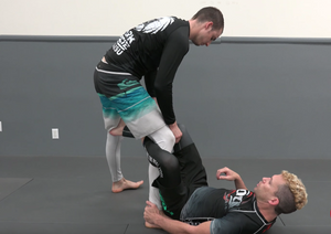 Half Guard passing concepts, De La Riva Sweep and a kneebar?