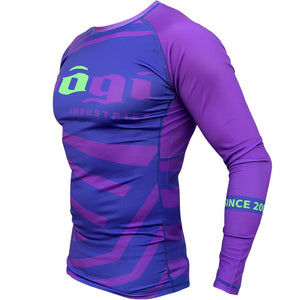 Buy any Adult Nogi Industries shorts and get an Exeter Rank Rashguard at 50% off