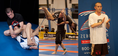 Bill Cooper Jeff Glover Josh Barnett wearing Nogi Shorts