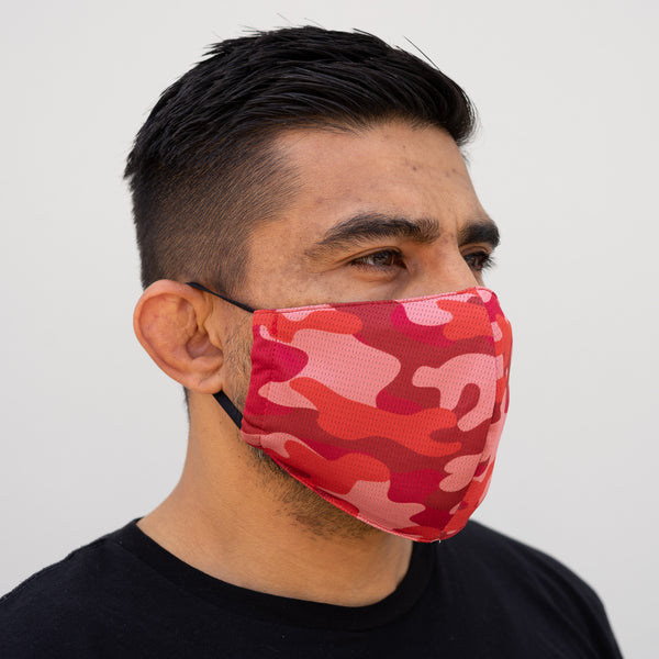 Defender Pro Mask Side Blood Camo
