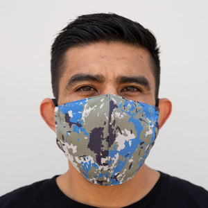 Defender Pro Mask Front Pacific Camo Front
