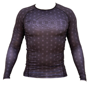 Nogi Industries Spectral Rashguard Black Long Sleeve Front