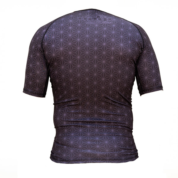 Nogi Industries Spectral Short Sleeve Rashguard Back
